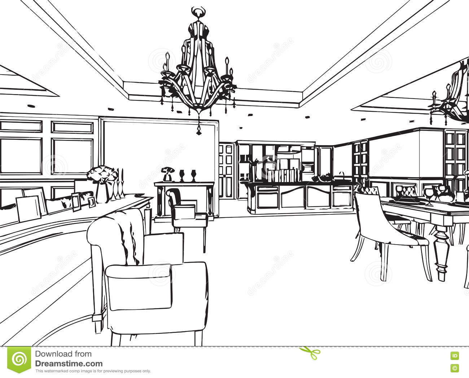 Croquis dessin maison id es novatrices de la conception - Dessin de maison en perspective ...