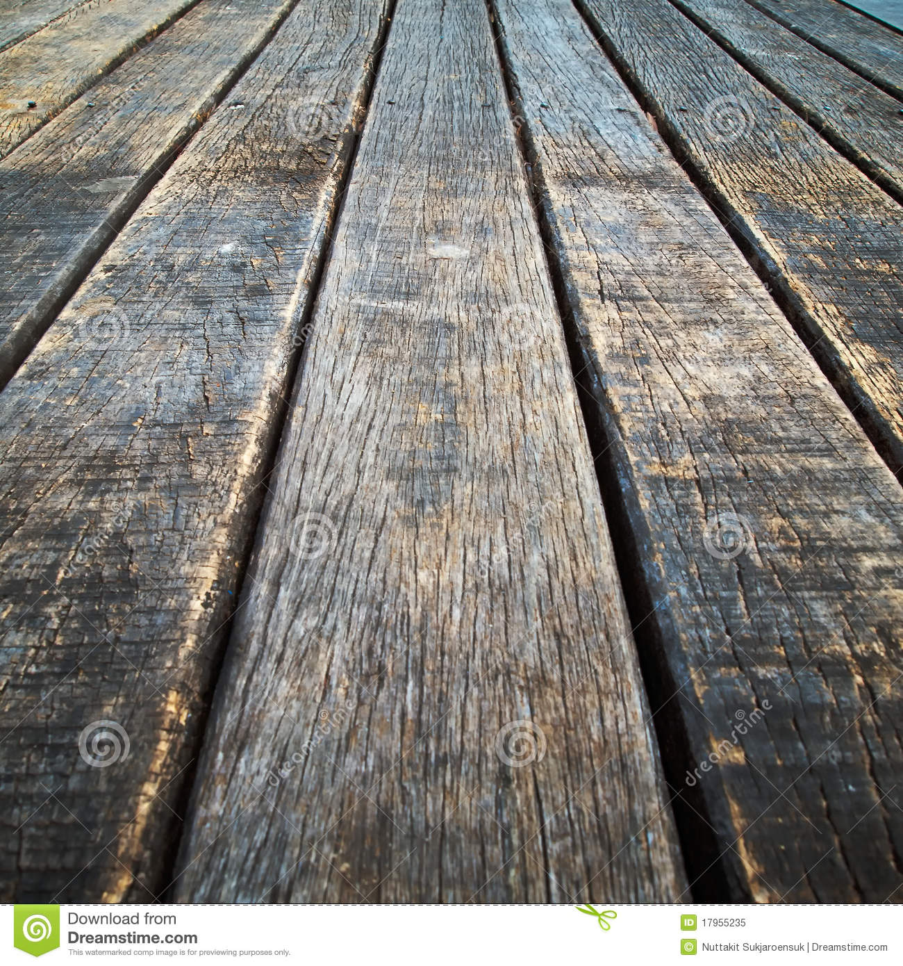 Royalty Free Stock Photo. Download Perspective Old Wood Floor ...
