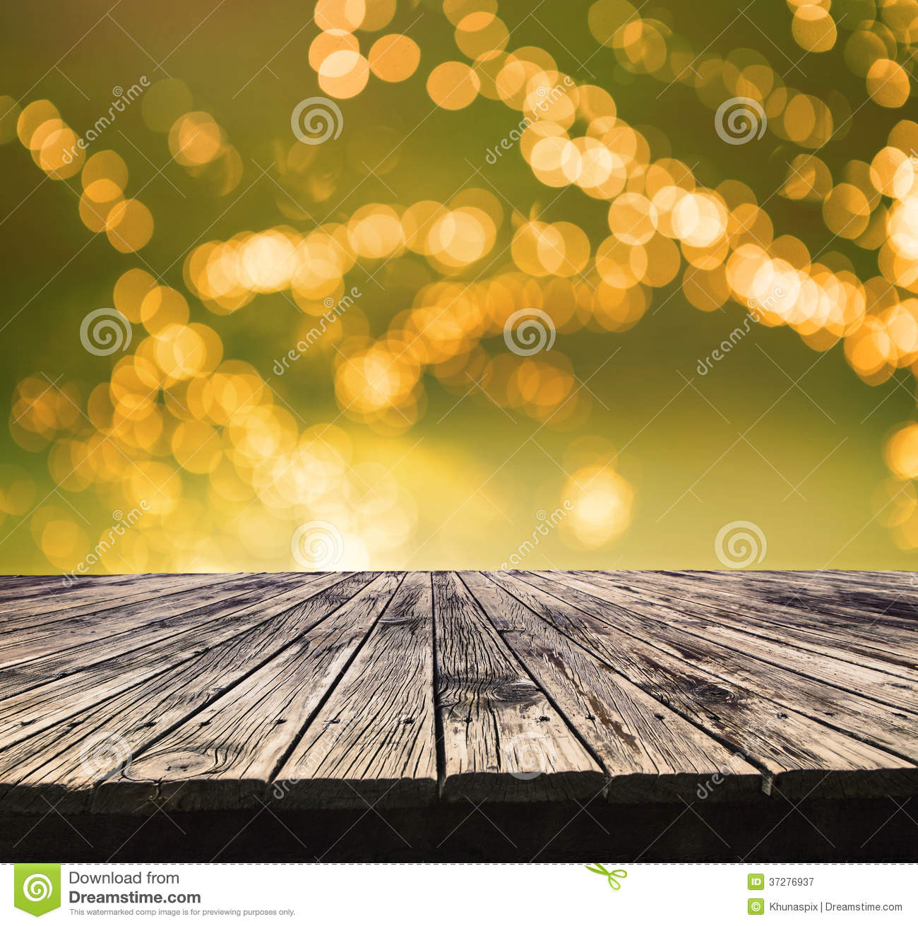 Perspective Textured Of Top Old Wood Table With Beautiful ...