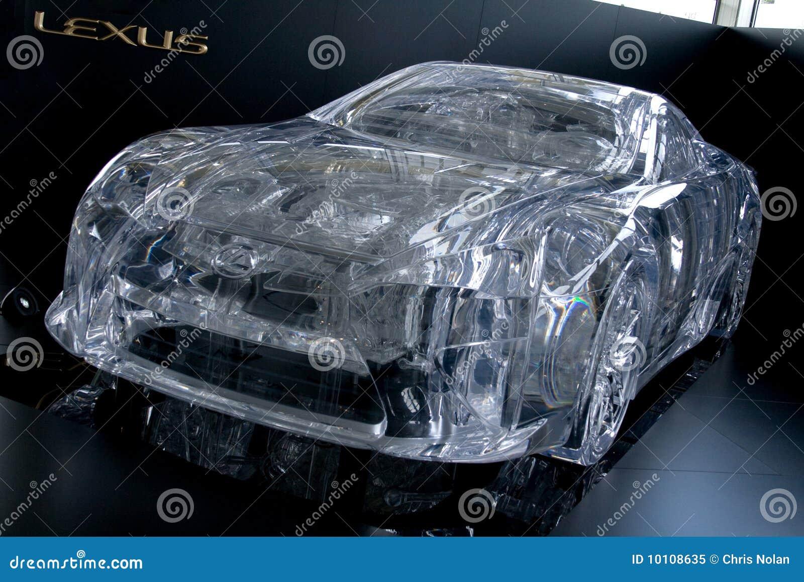 Perspex Lexus Lf A Car Editorial Image Image Of Lexus 10108635