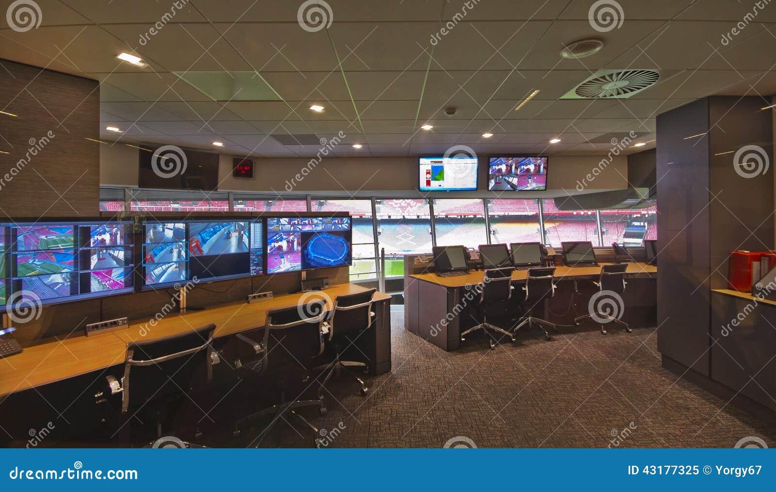 Perszaal bij de Arena van Amsterdam