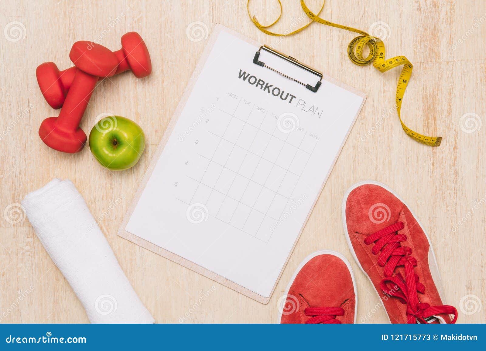 Perte de poids, fonctionnement, consommation saine, concept sain de mode de vie