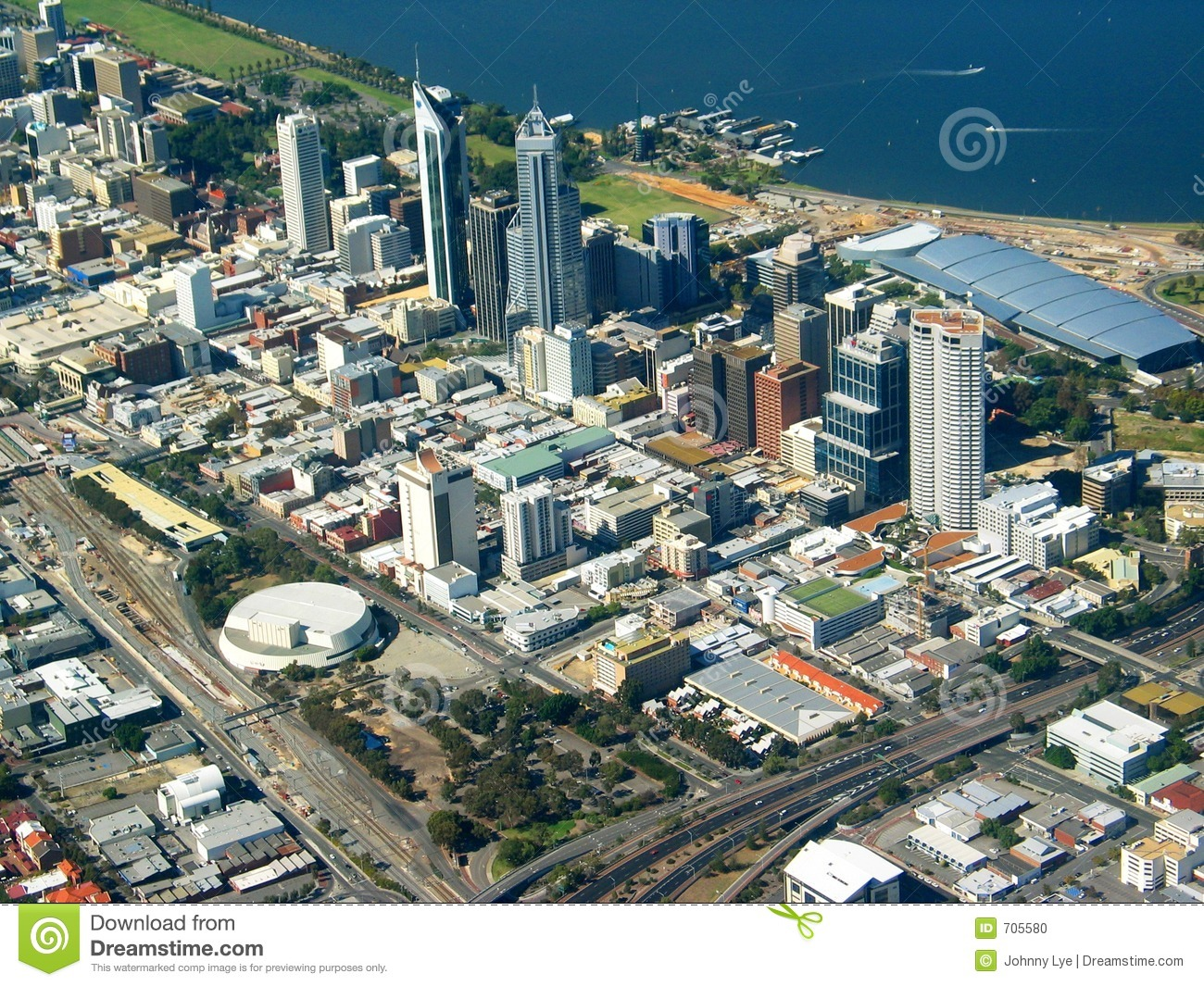Up to date satellite images in Perth
