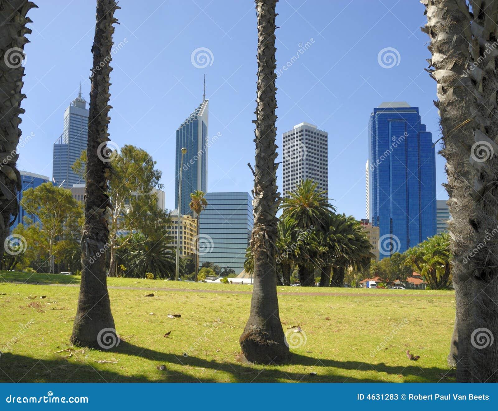 Perth midtown widok