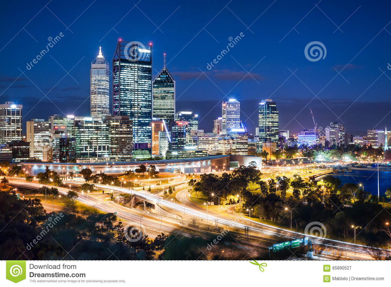 Perth Night View