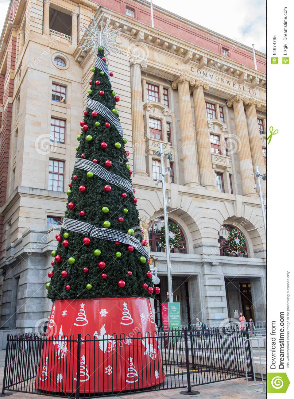 perth post office at christmastime - Post Office Christmas Hours