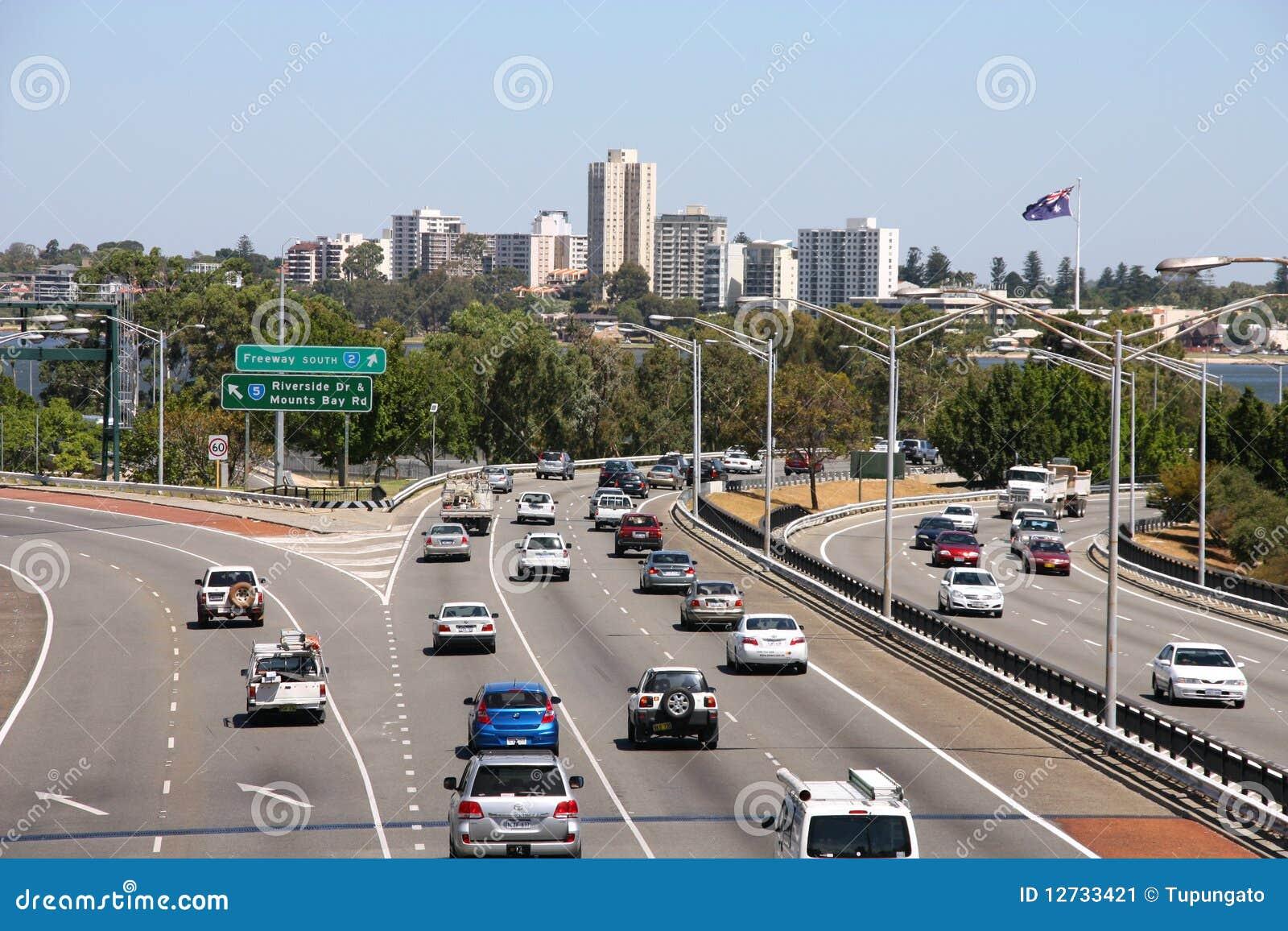 Perth trafik
