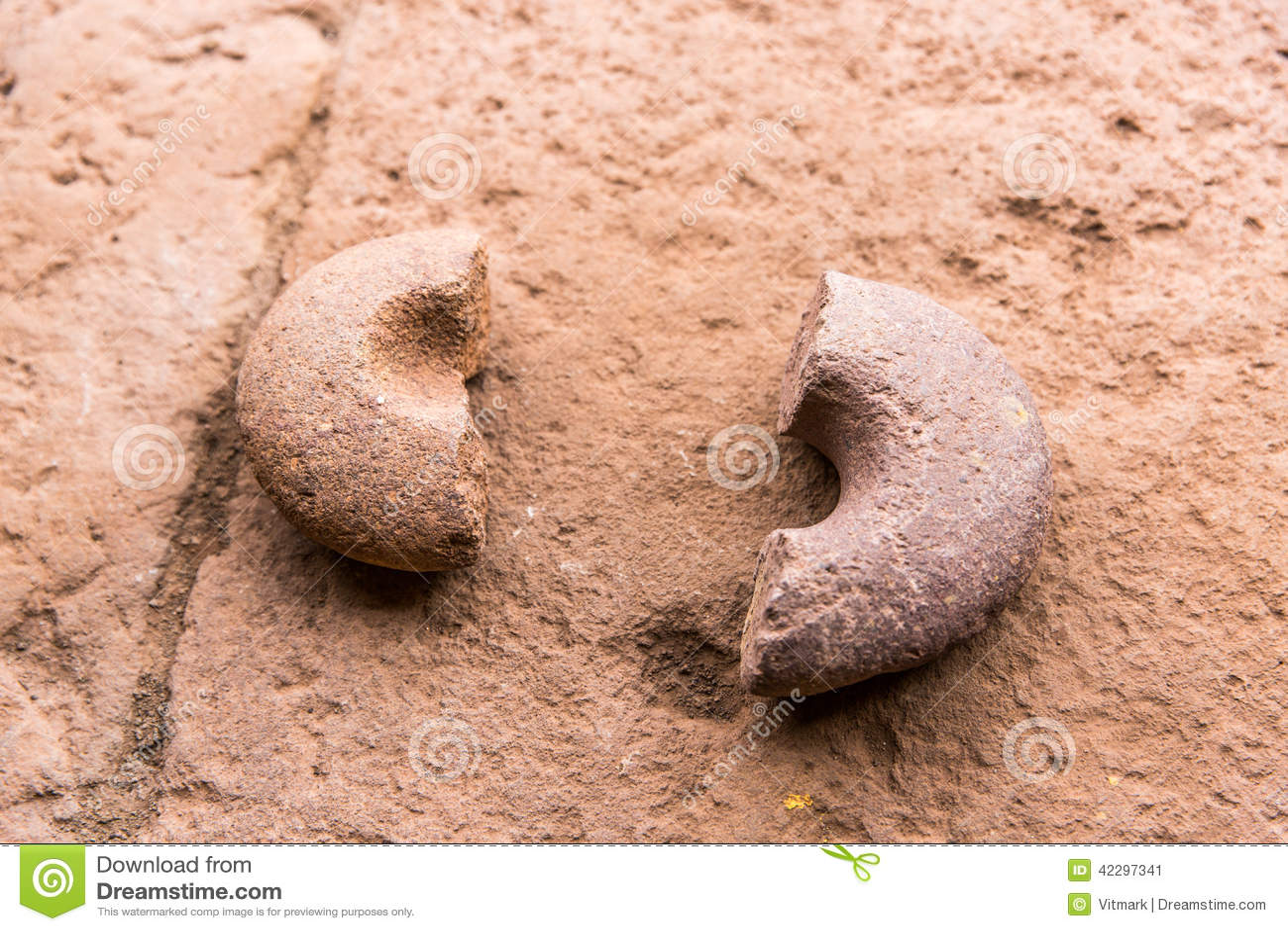 Peru ancient aztec and maya stone sculptures