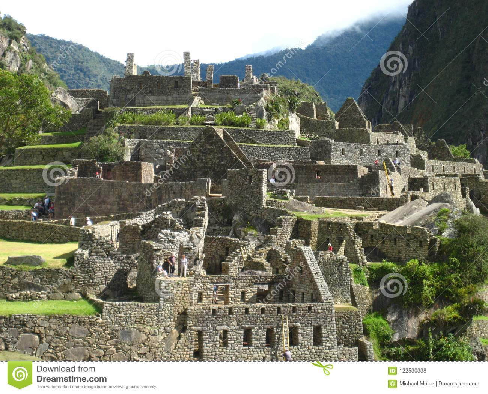 Peru: Machu Pichu, Unesco-världsarv i Andinesen