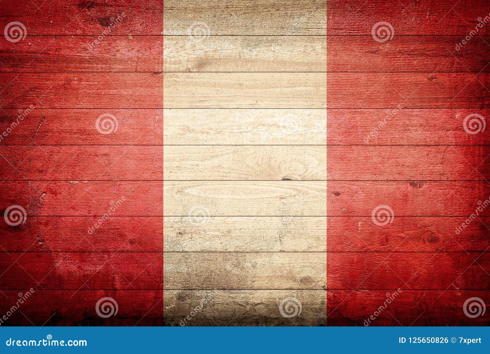 Peru National Flag Stock Photo Image Of Luxury Wallpaper 125650826