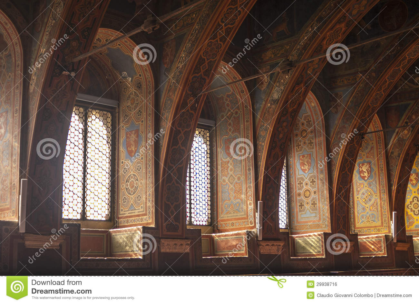 Perugia interior of historic palace royalty free stock image image 29938716 - Interior design perugia ...