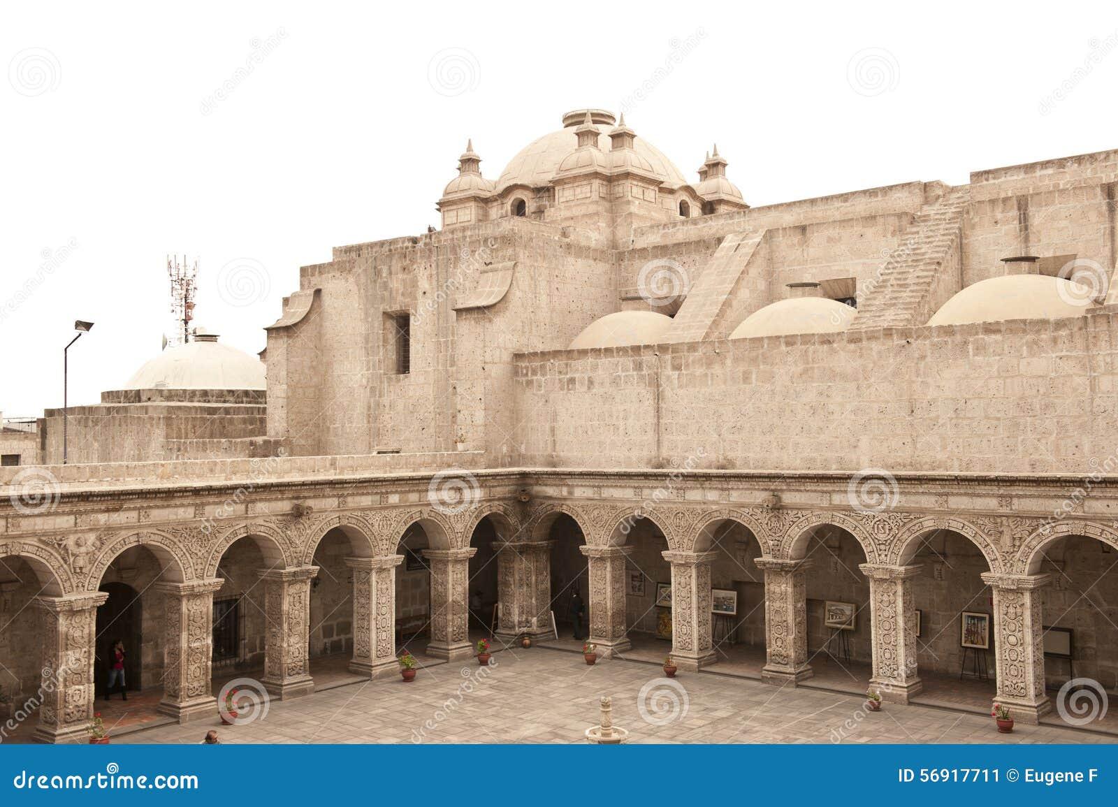 Peruviaanse binnenplaats