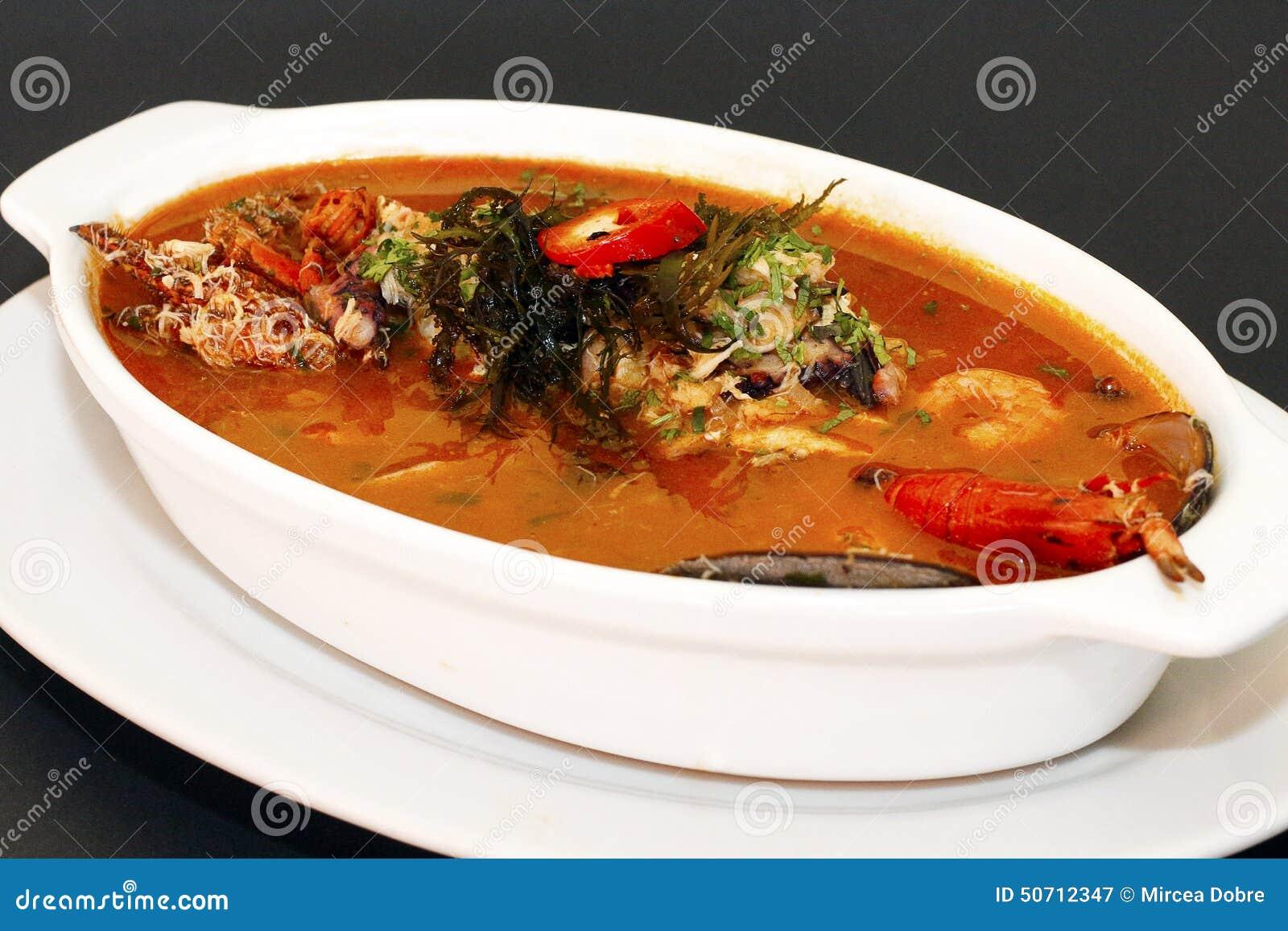 Peruvian Food: Parihuela Seafood Soup ...