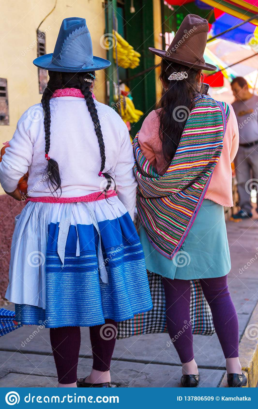 Peruvian people editorial stock image. Image of authentic ...