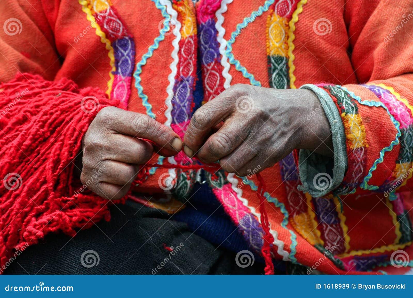 Peruvian Yarn Spinner