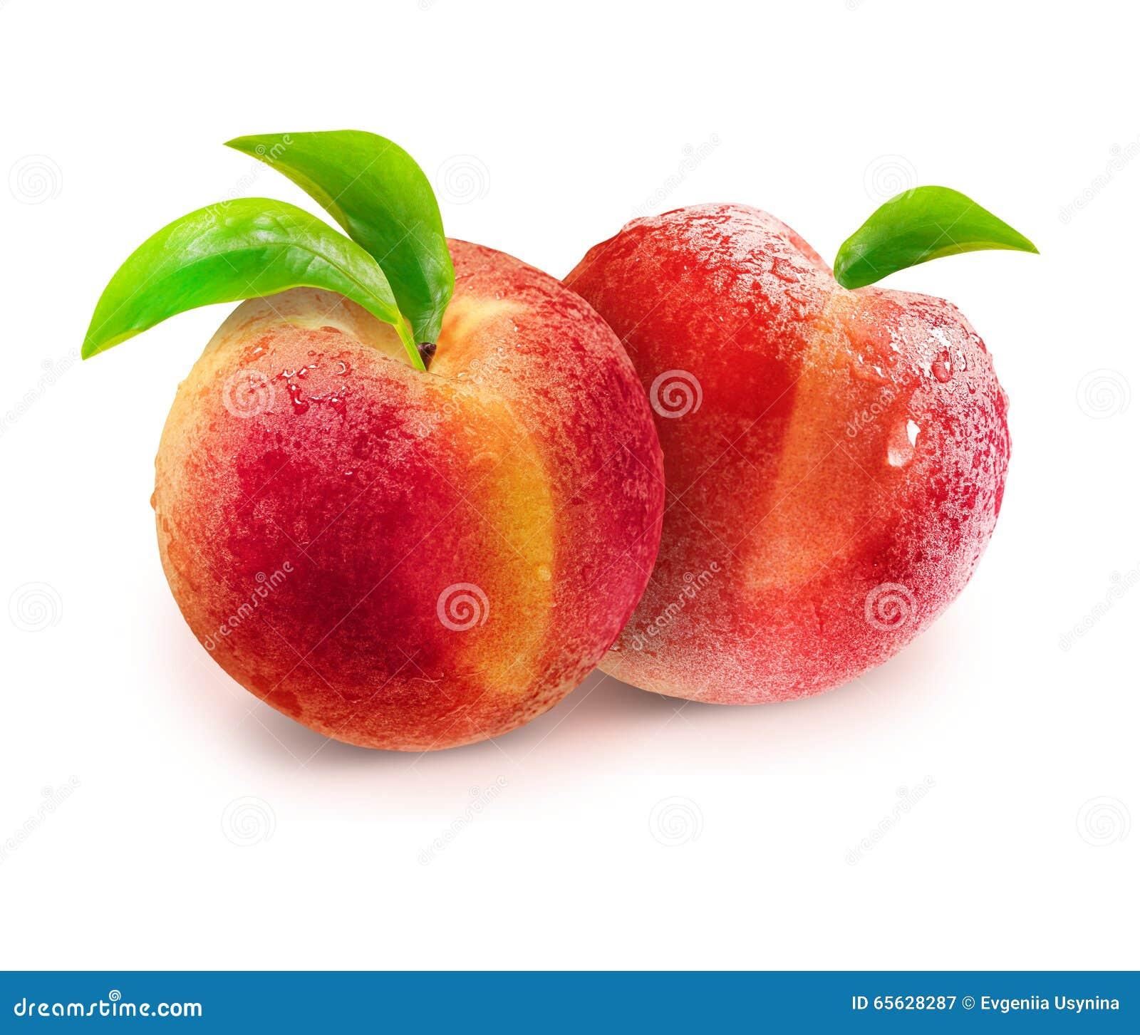 Perziken met het knippen van weg