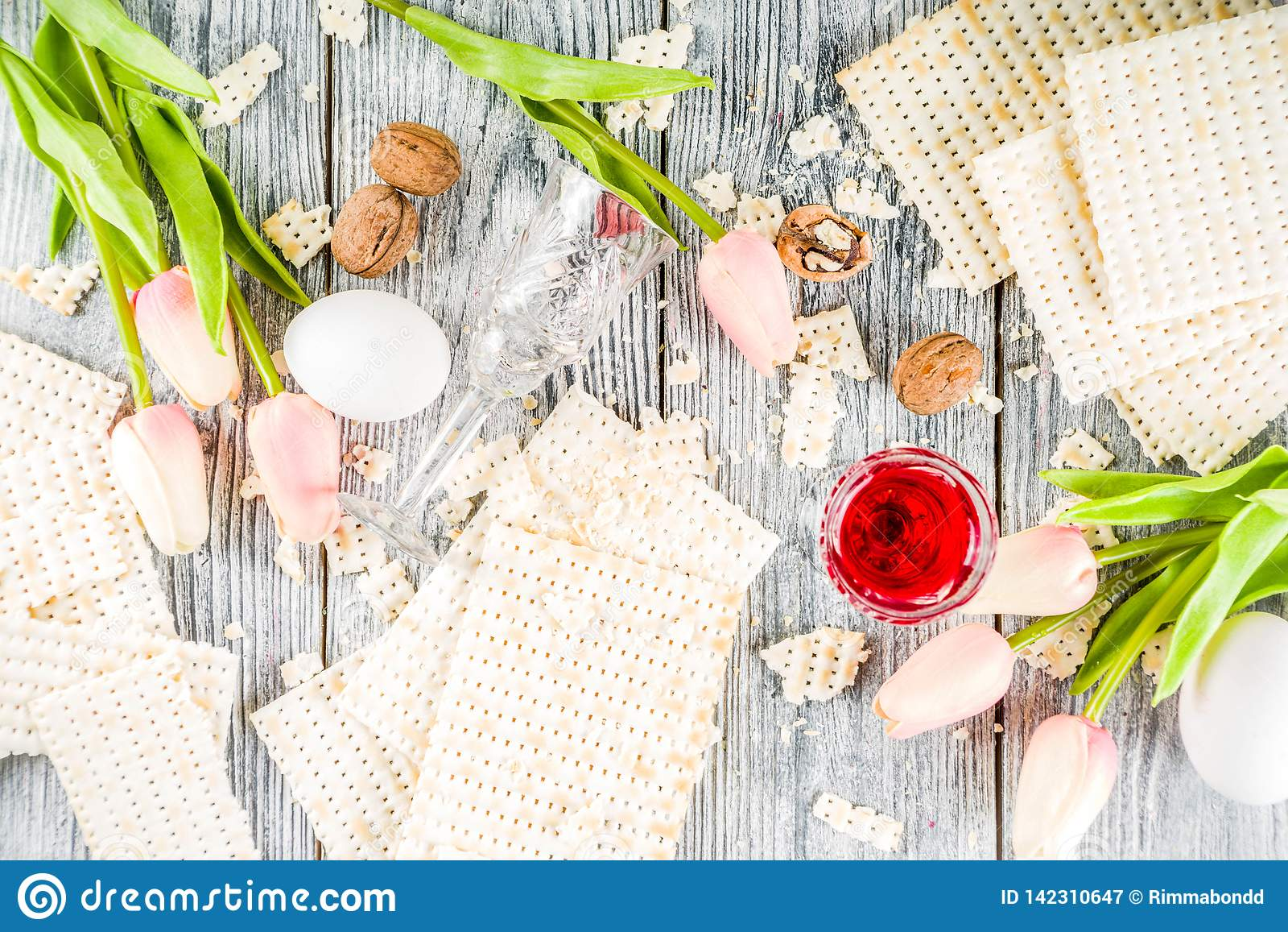 Pesah, fondo judío del día de fiesta de la pascua judía