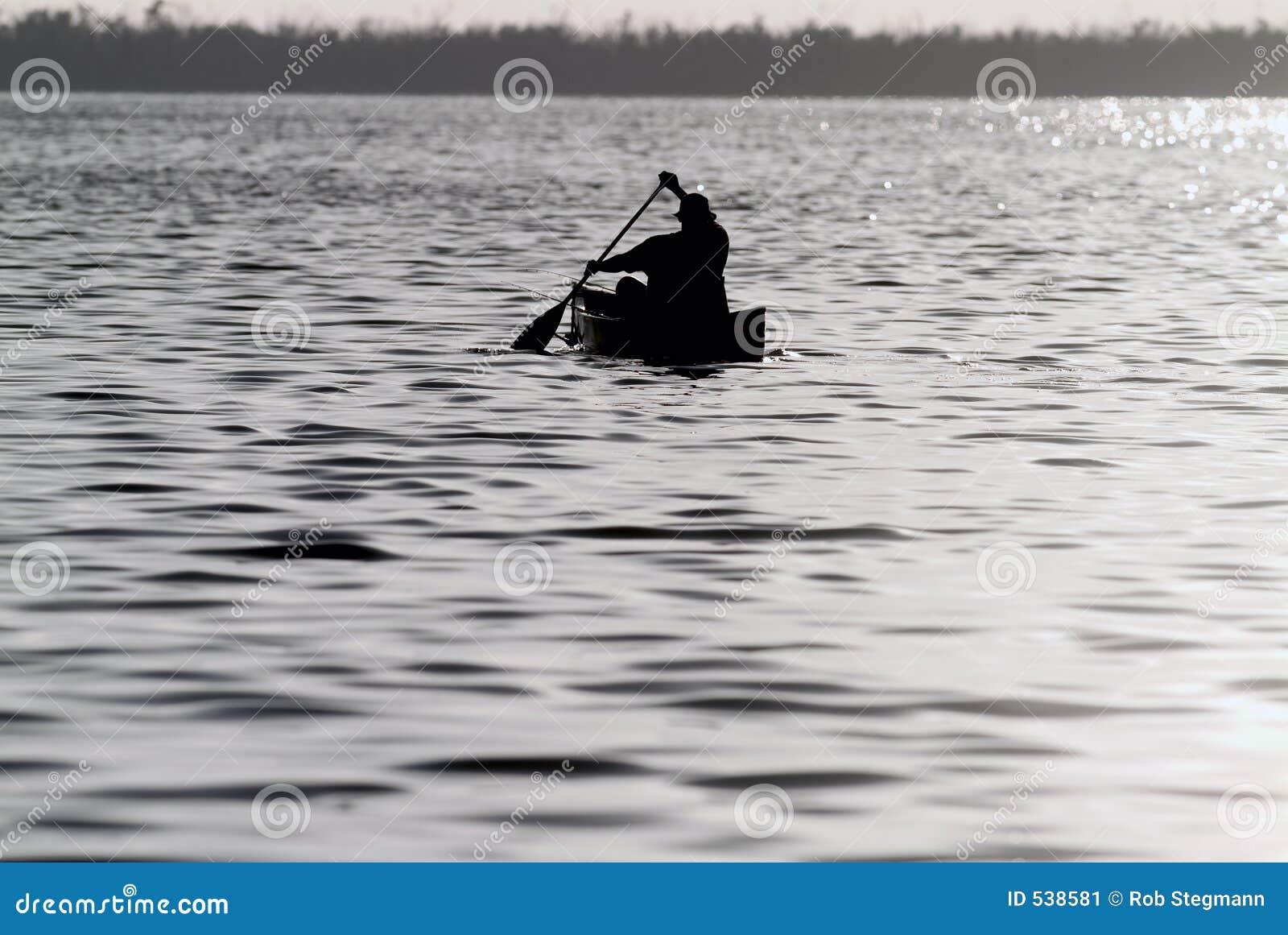 Pesca da canoa