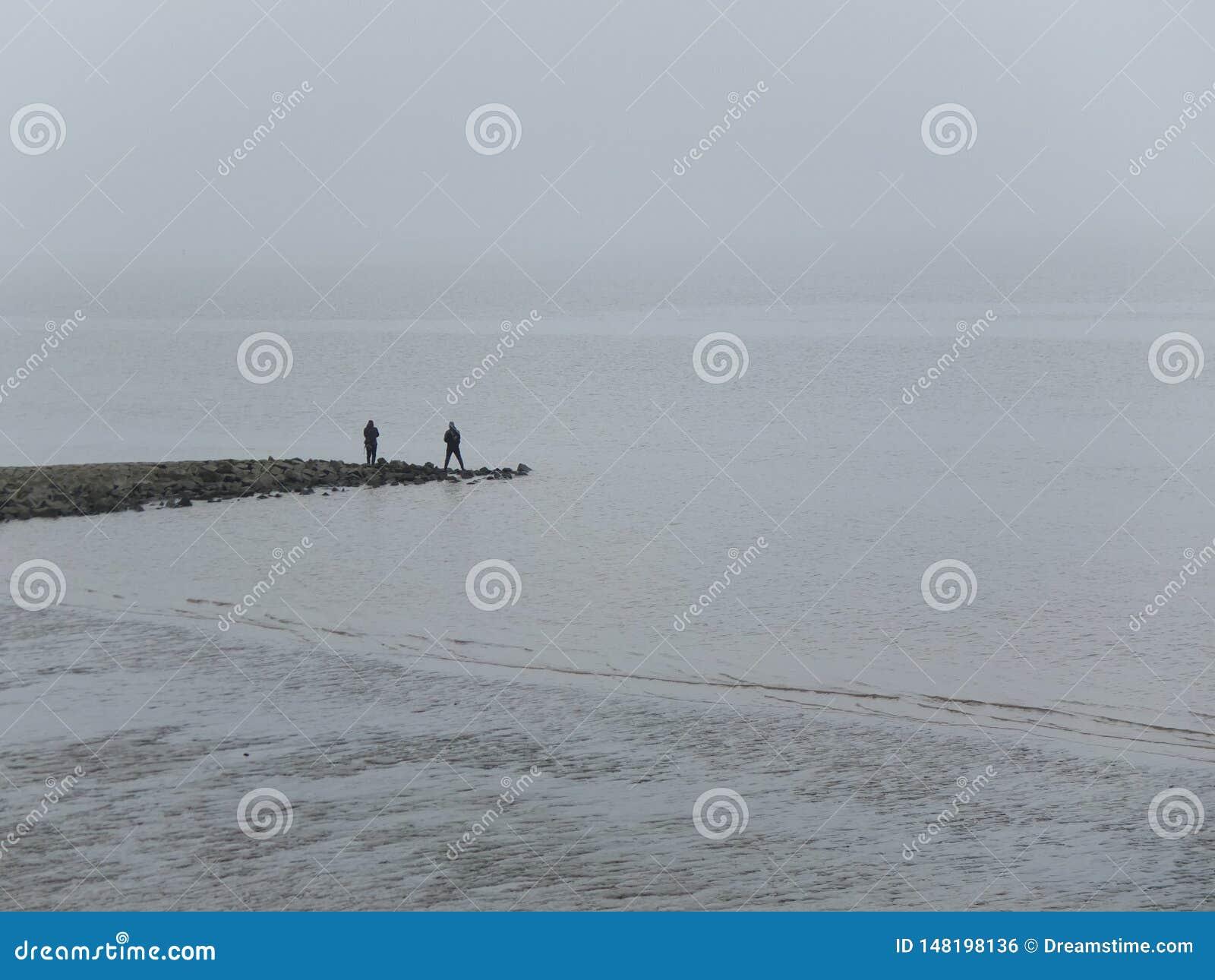 Pesca de duas pessoas