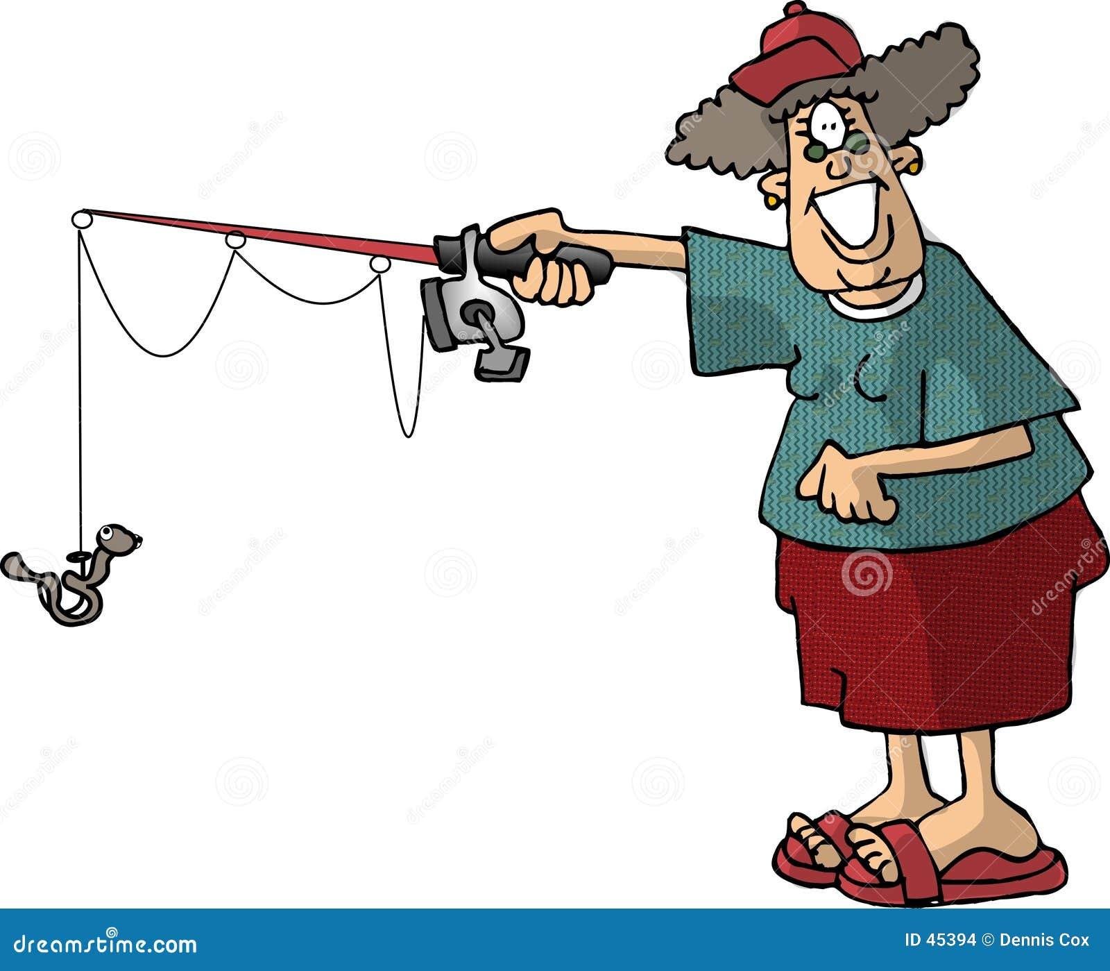 Pesca de la mujer