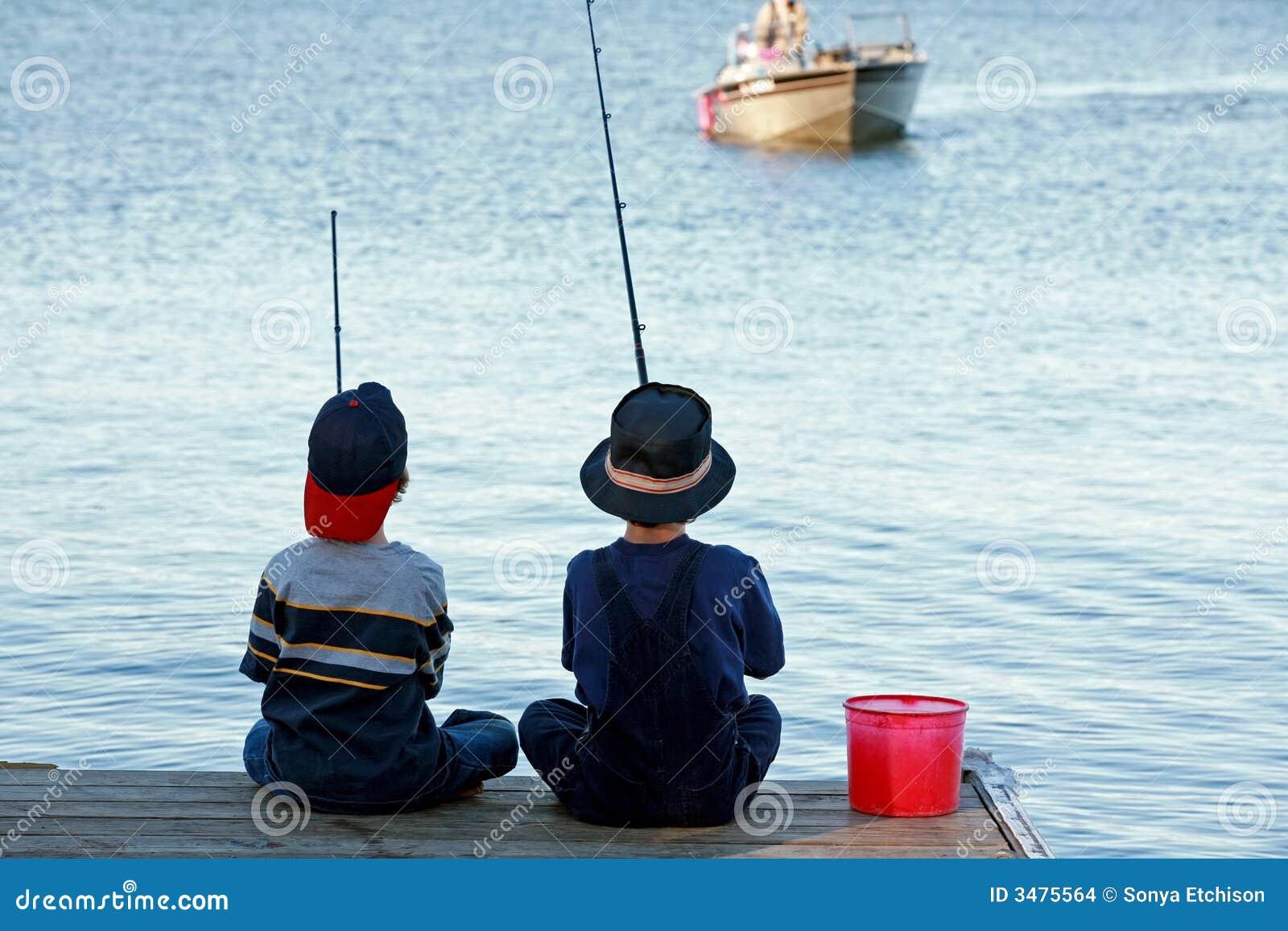 Pesca dei ragazzi