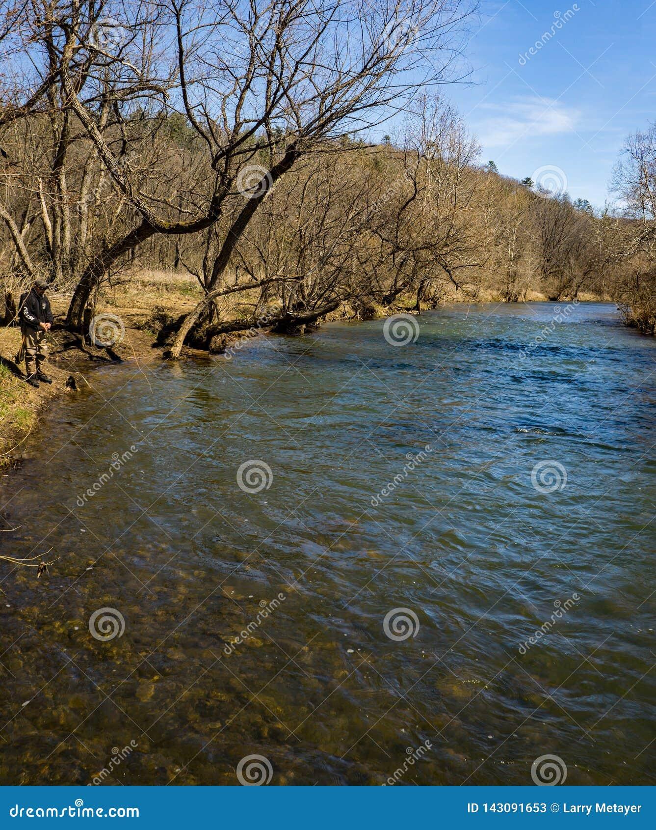 Pesca em Jackson River - 2 da truta
