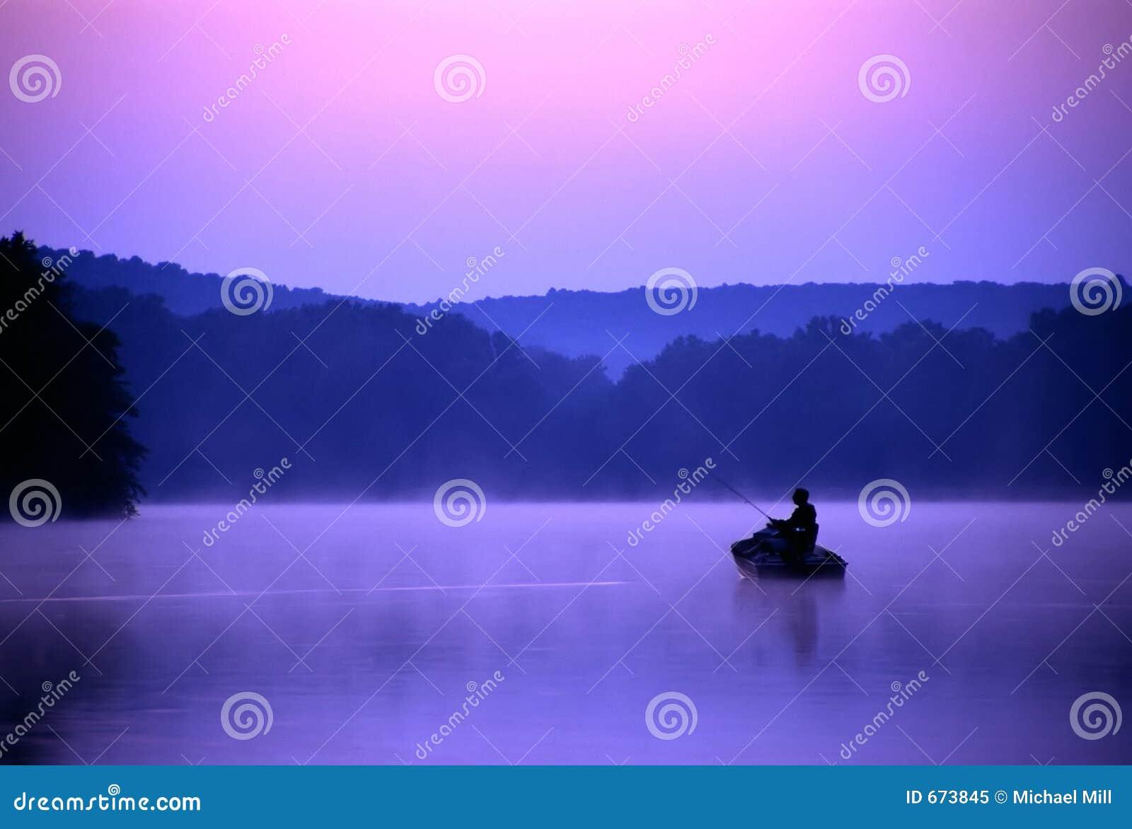 Pescador crepuscular