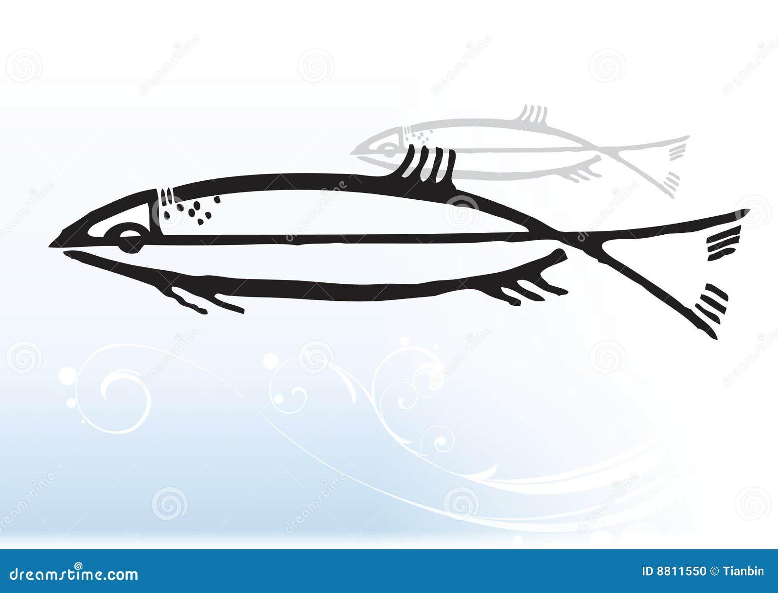 Pescados abstractos