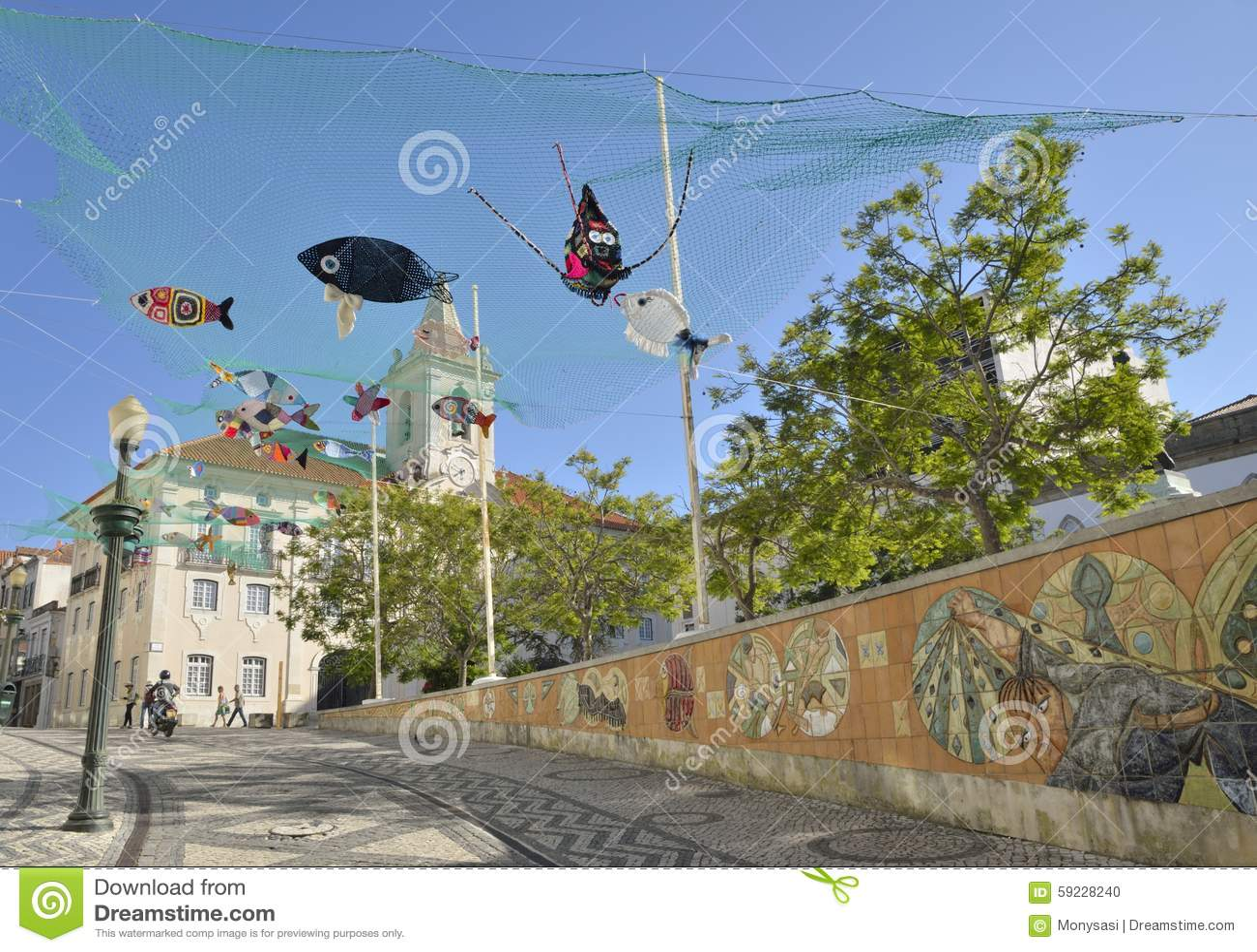 Download Pescados del ganchillo imagen editorial. Imagen de calle - 59228240