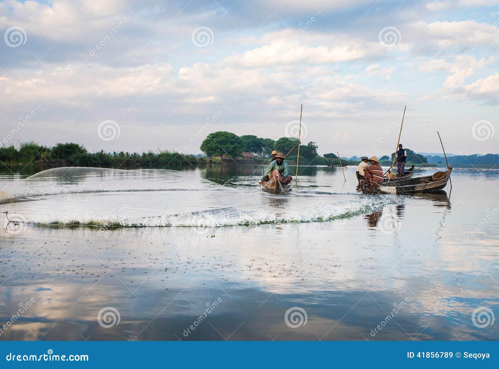 Pescados del retén de los pescadores