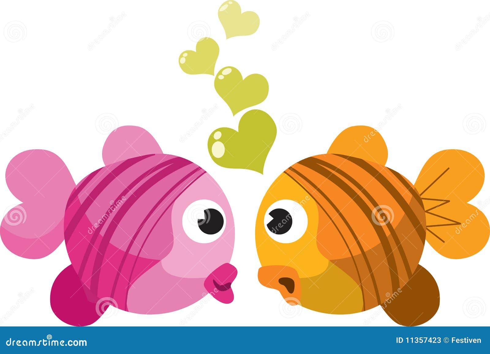 Pescados en amor
