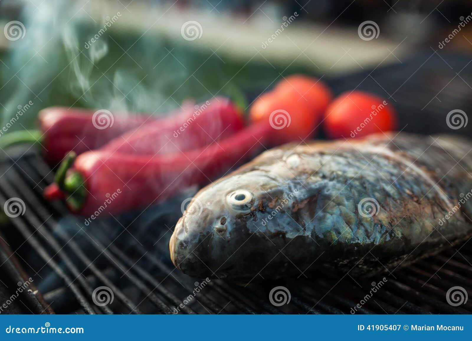 Pescados en parrilla