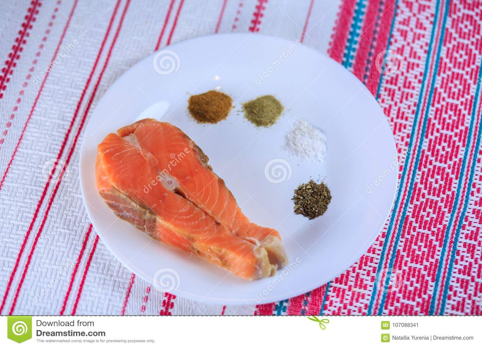 Pescados salados rojos