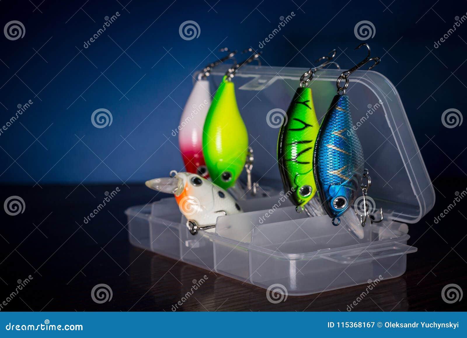 Pescando atrações em uma caixa