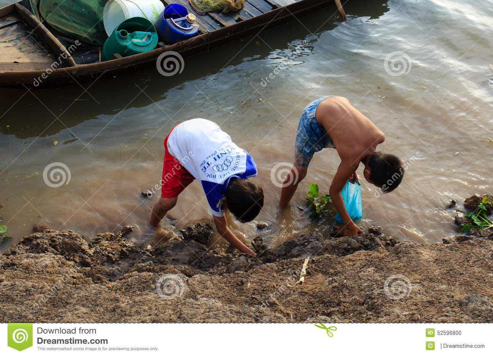 Pescando a mano