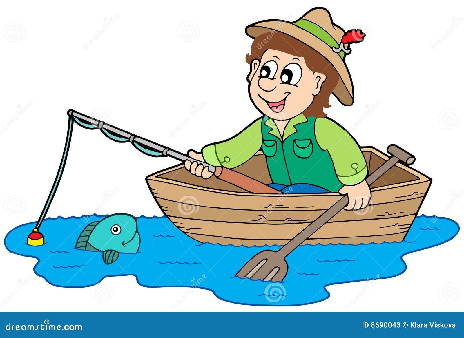 Pescatore in barca