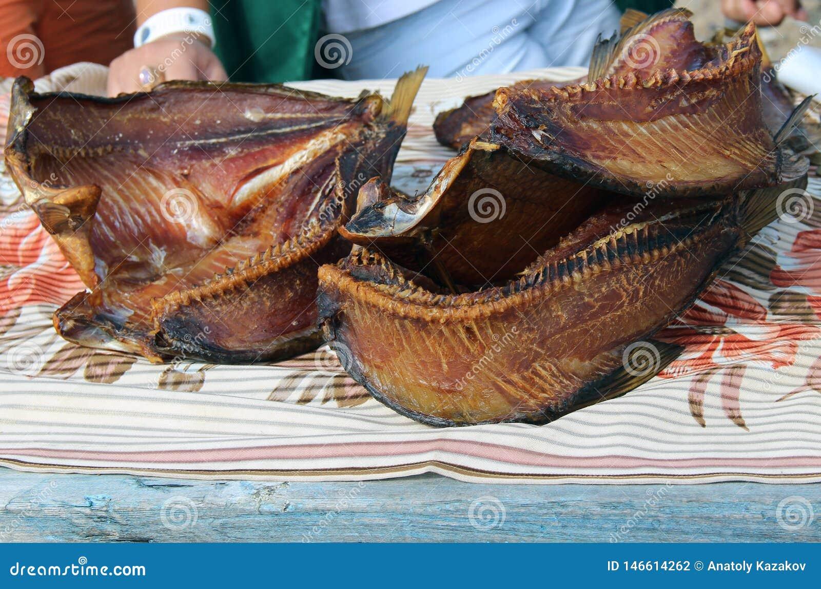 Pesce affumicato appetitoso