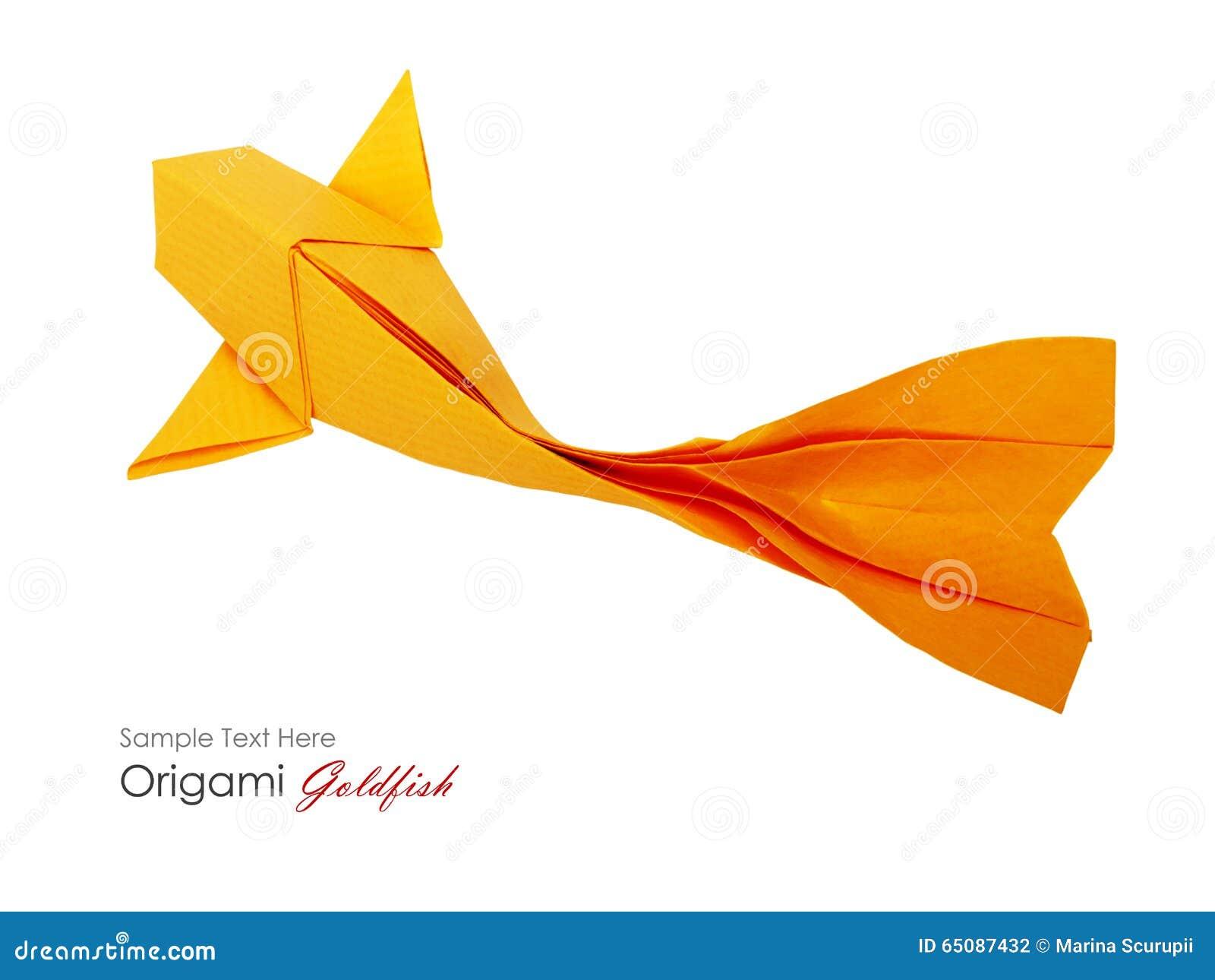 Pesce Della Carta Di Origami Fotografia Stock Immagine Di Pets
