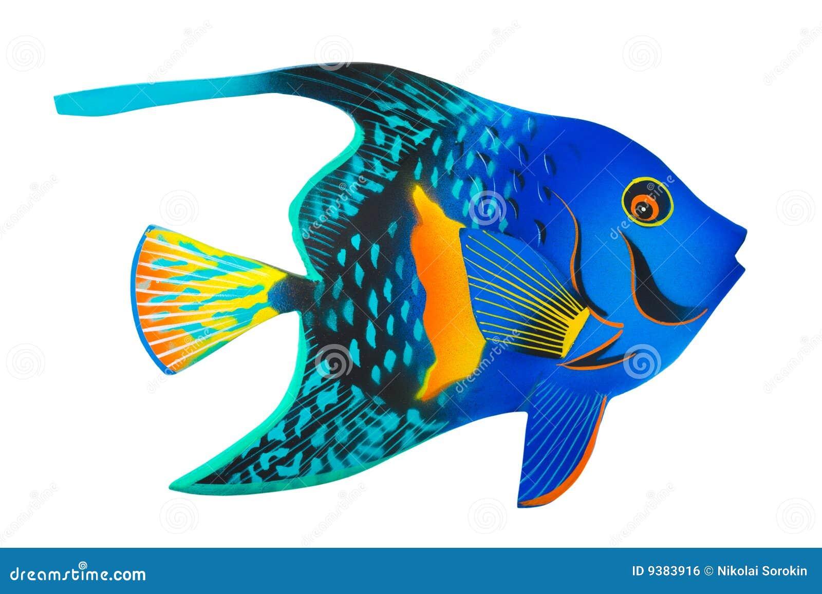 pesci esotici del giocattolo immagine stock libera da