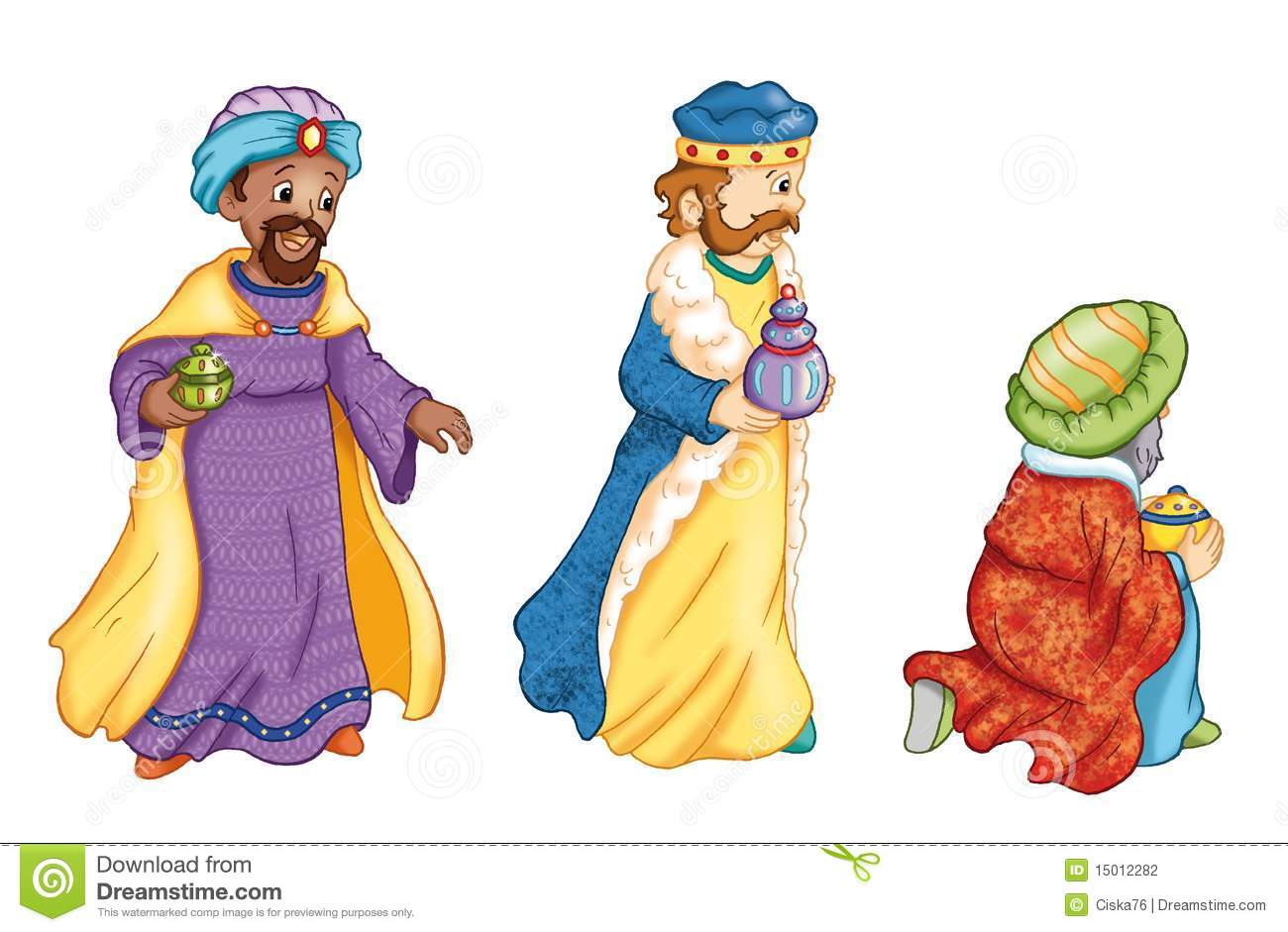 printable three wise men coloring pages