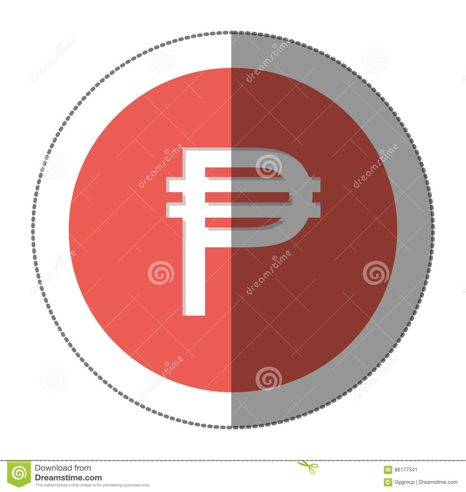 Pesos Currency Symbol Icon Stock Illustration Illustration Of Money