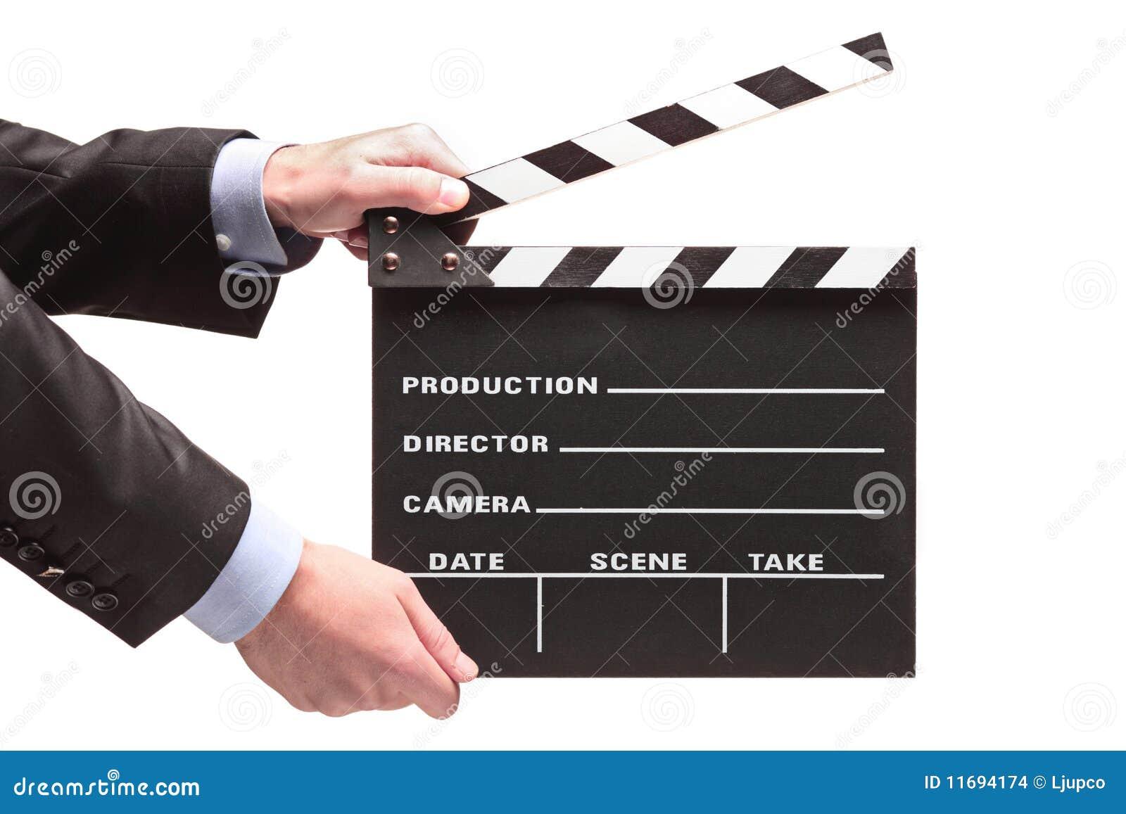 Pessoa com um aplauso do filme