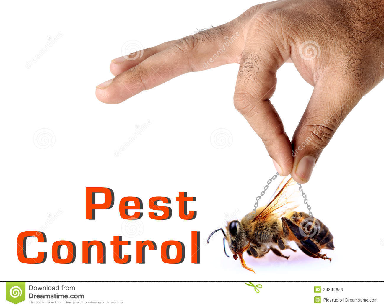 Pest Control Royalty Free Stock Image - Image: 24844656