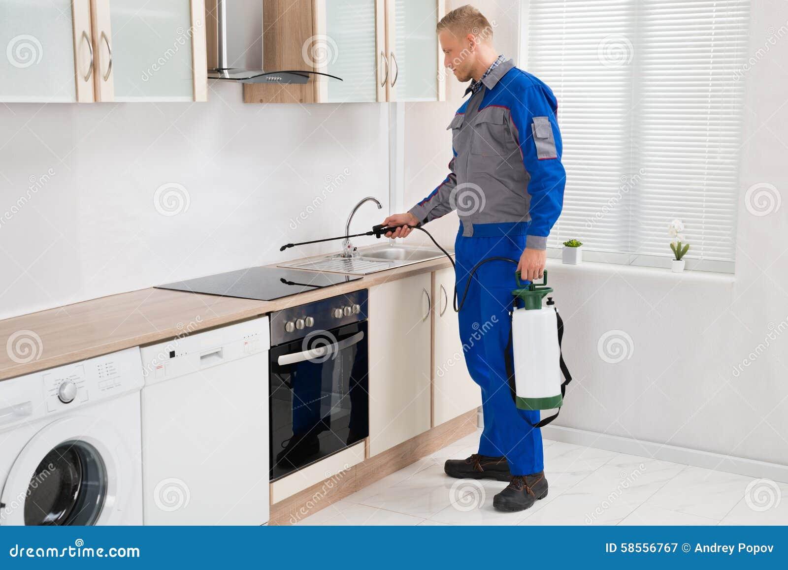 Kitchen Cabinet Worker