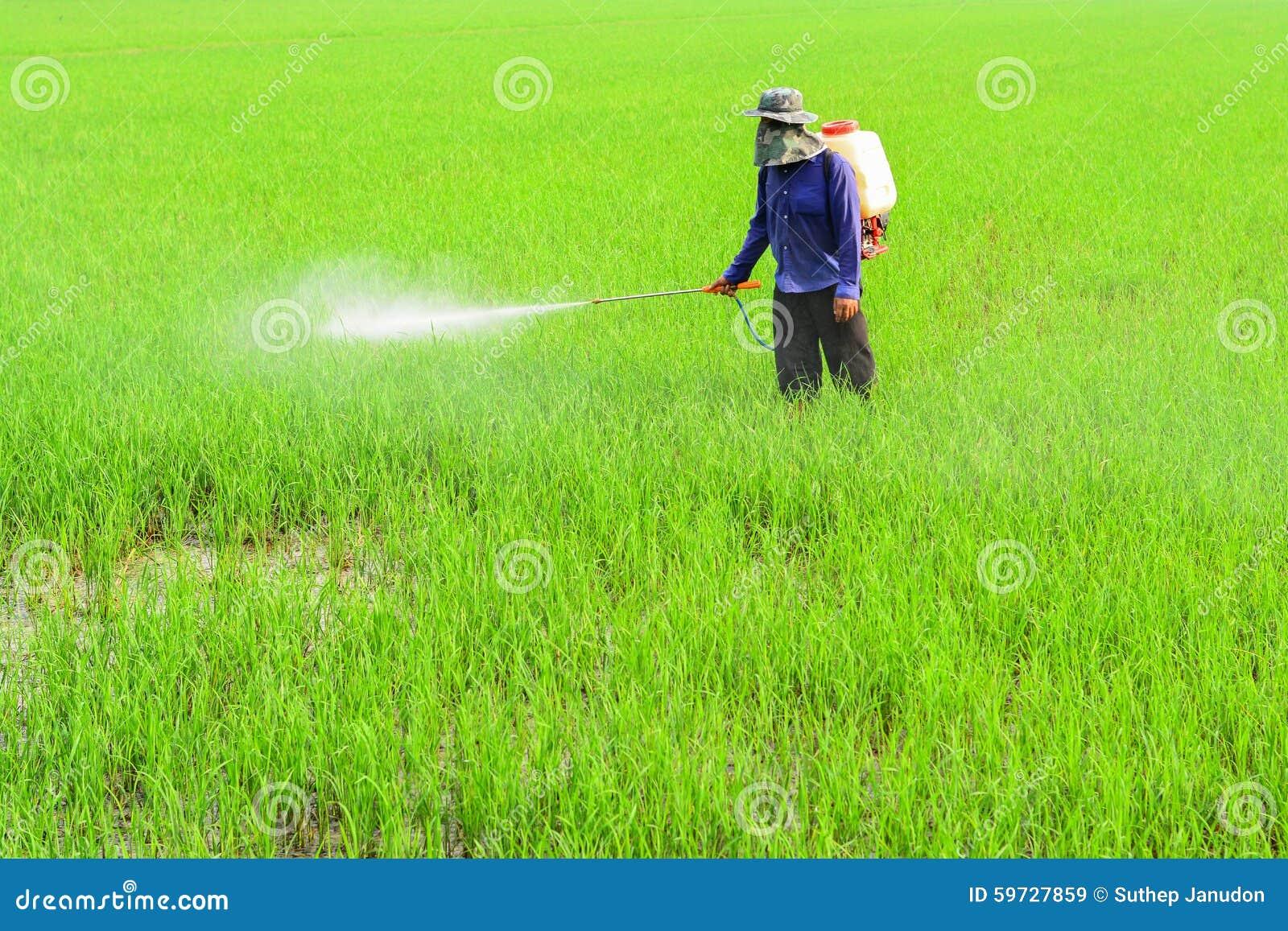 Pesticida de rociadura del granjero