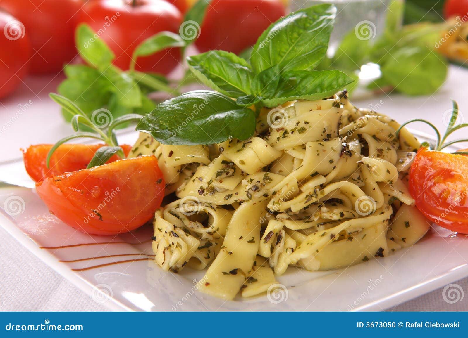 Pesto调味汁意粉