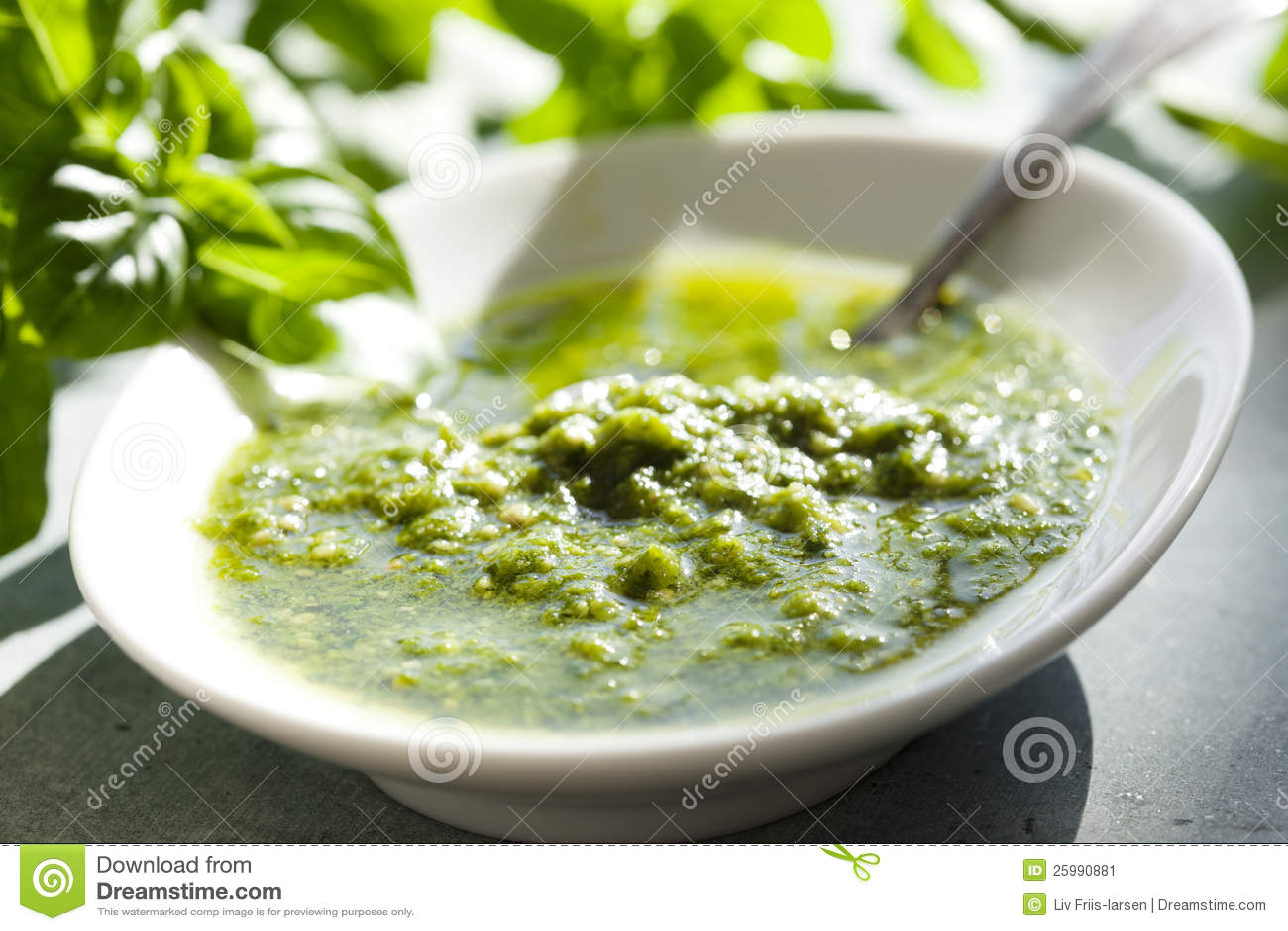 Emilia Terragni's Basil Pesto Recipe — Dishmaps