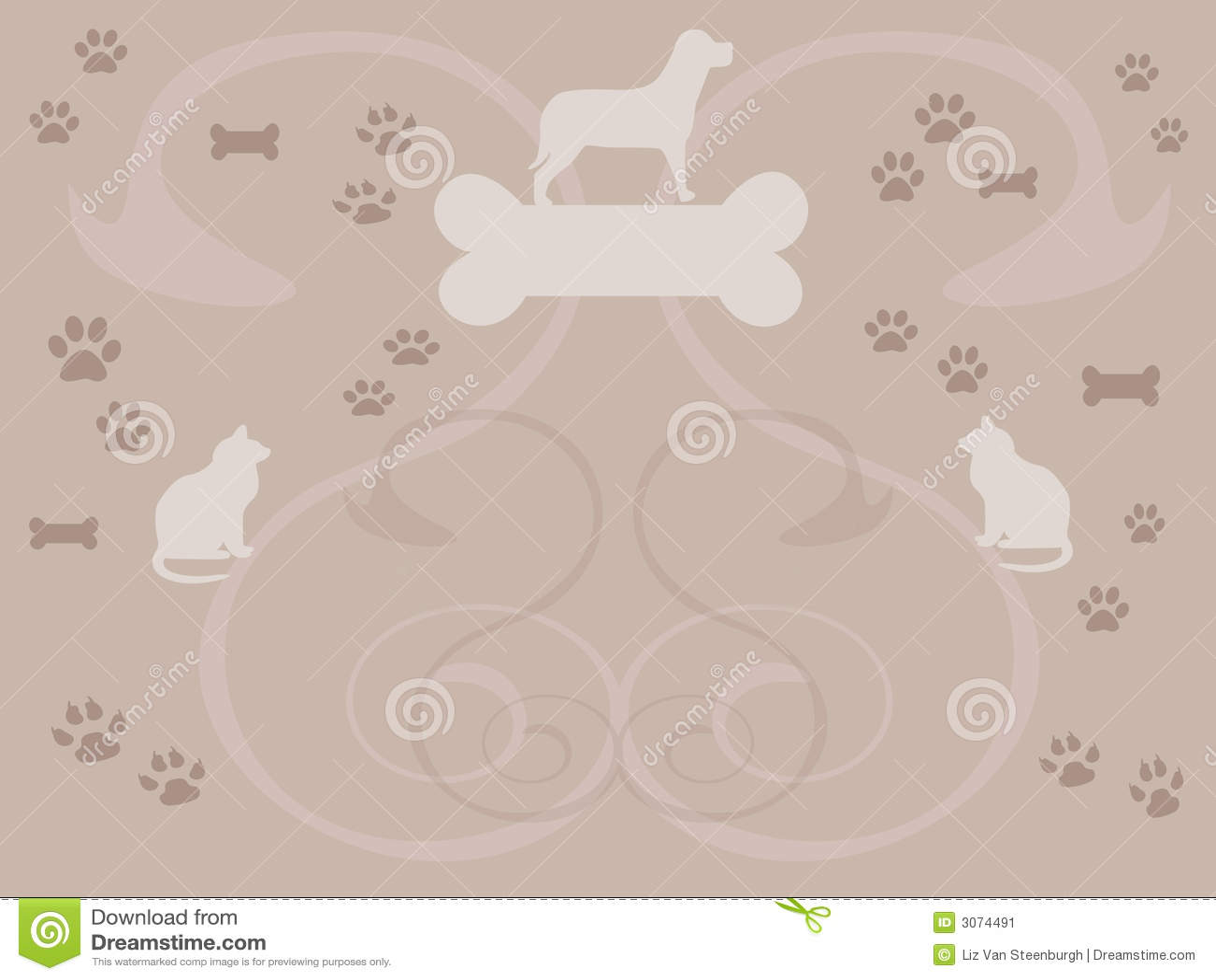 Pet Background Stock Image - Image: 3074491