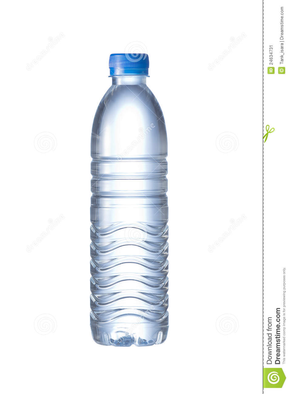 A Pet Bottle Of Water Stock Image Image 24634731