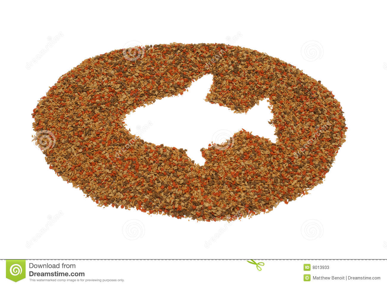 Pet fish food stock photos image 8013933 for What is fish food made of